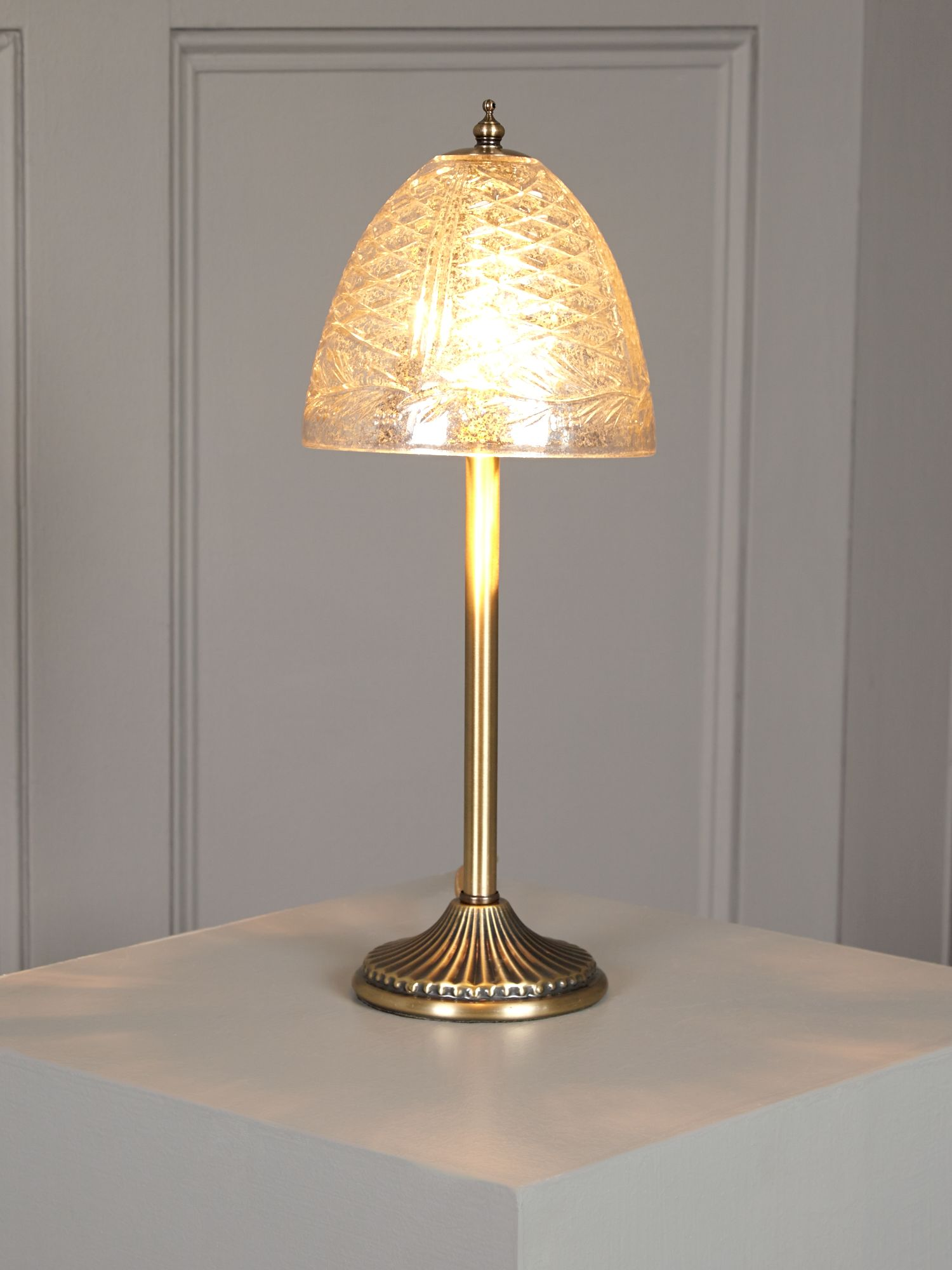 Sofia Glass Shade Table Lamp