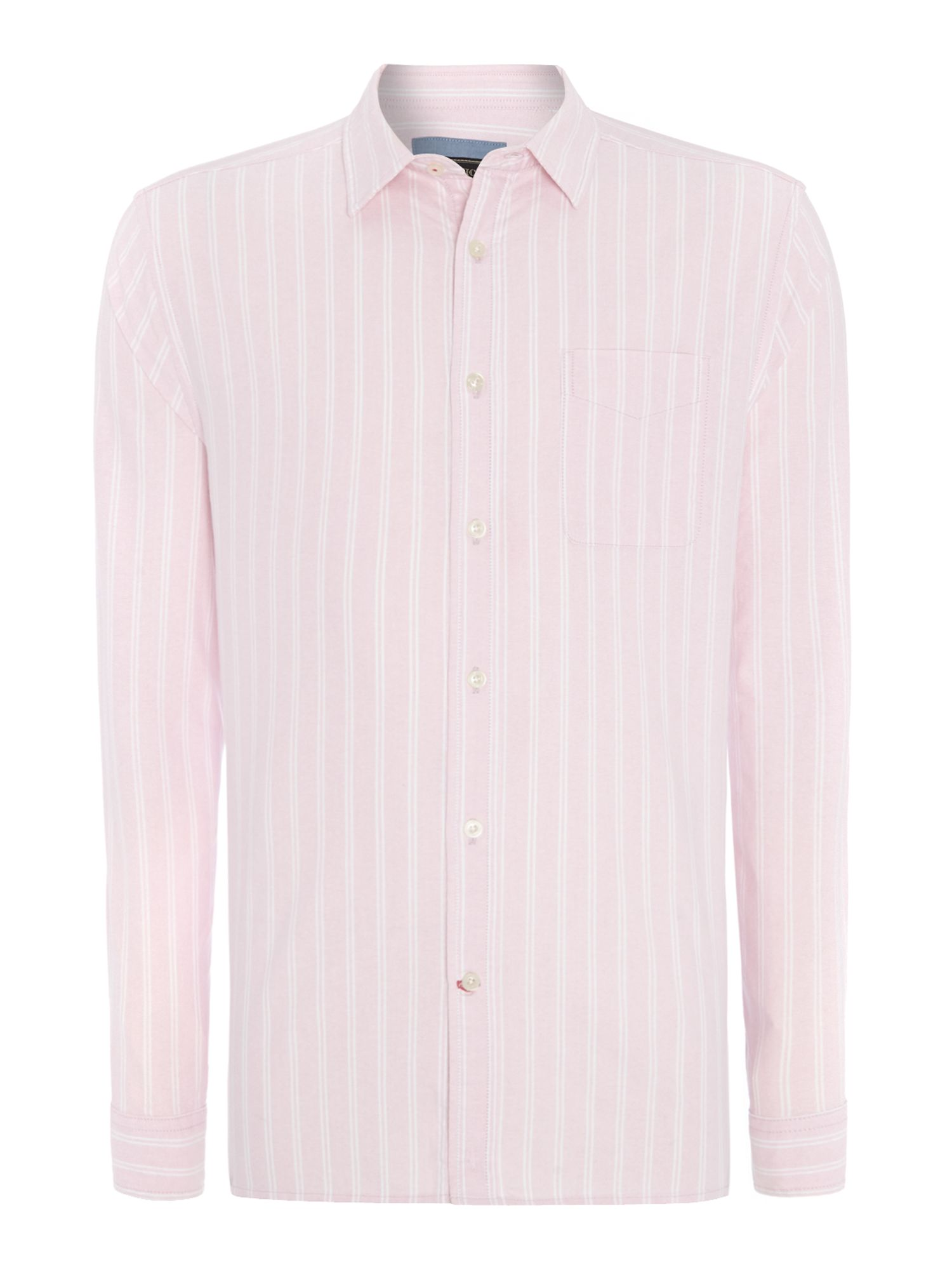 branford oxford stripe long sleeve shirt