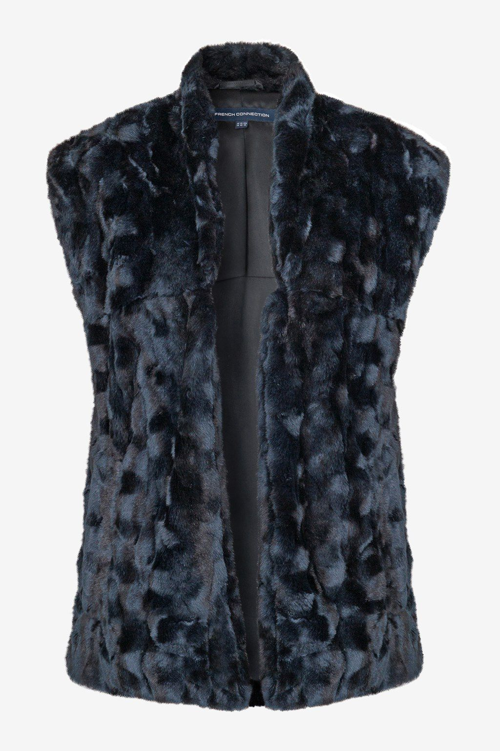 Ali faux fur sleeveless jacket