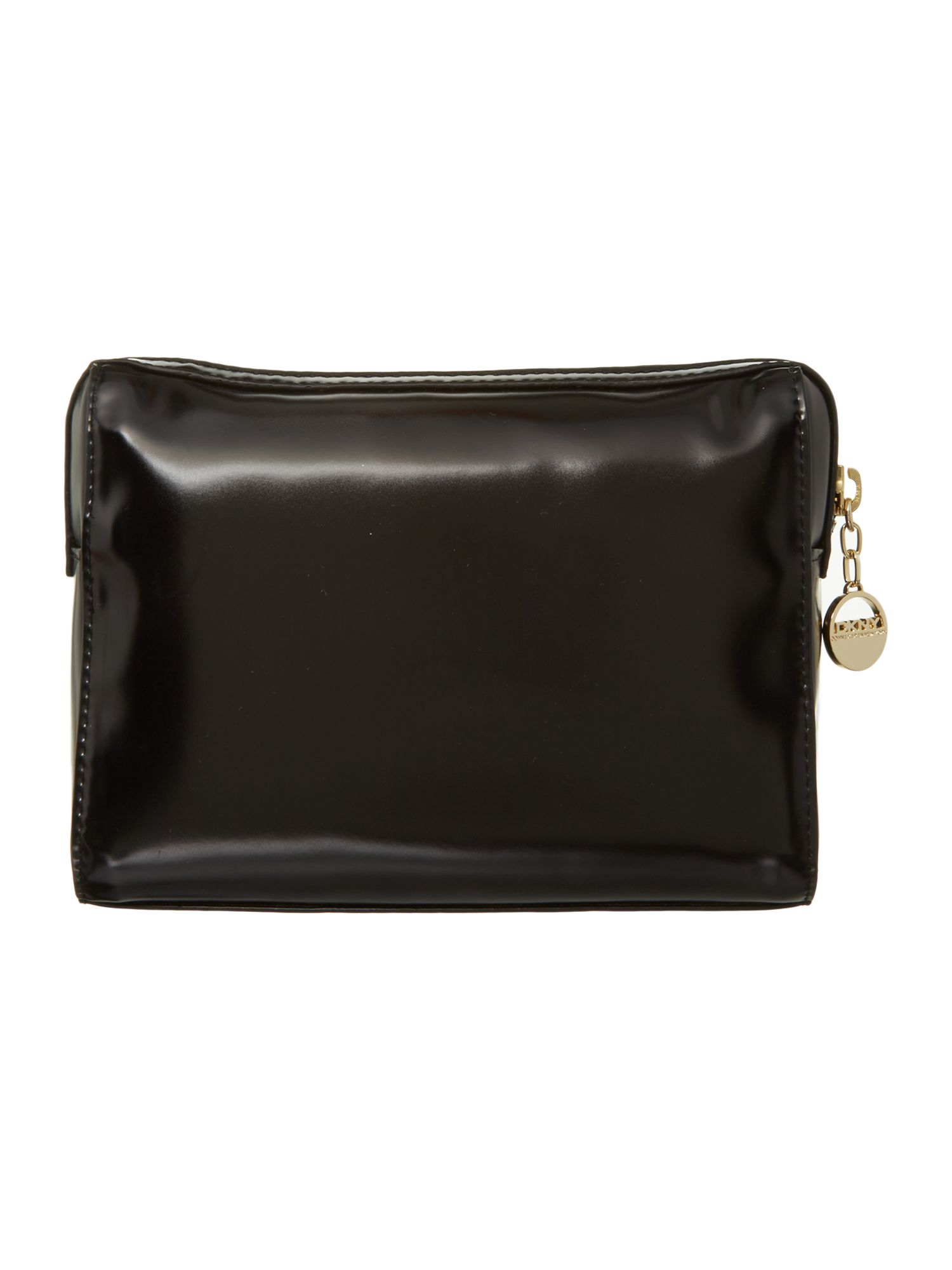 Hudson black cosmetic bag