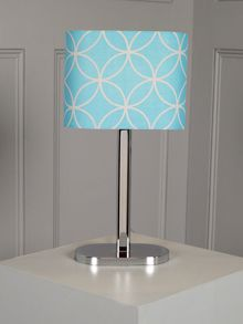 Ronnie Table Lamp Blue