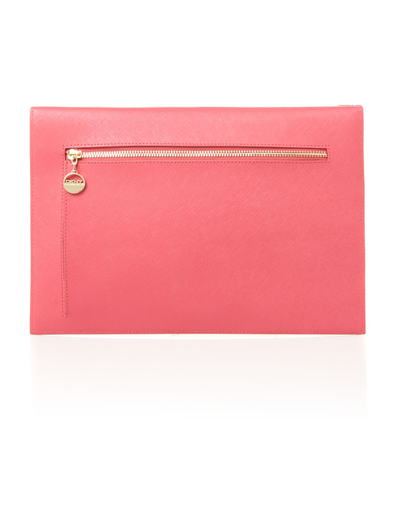 Saffiano pink document case