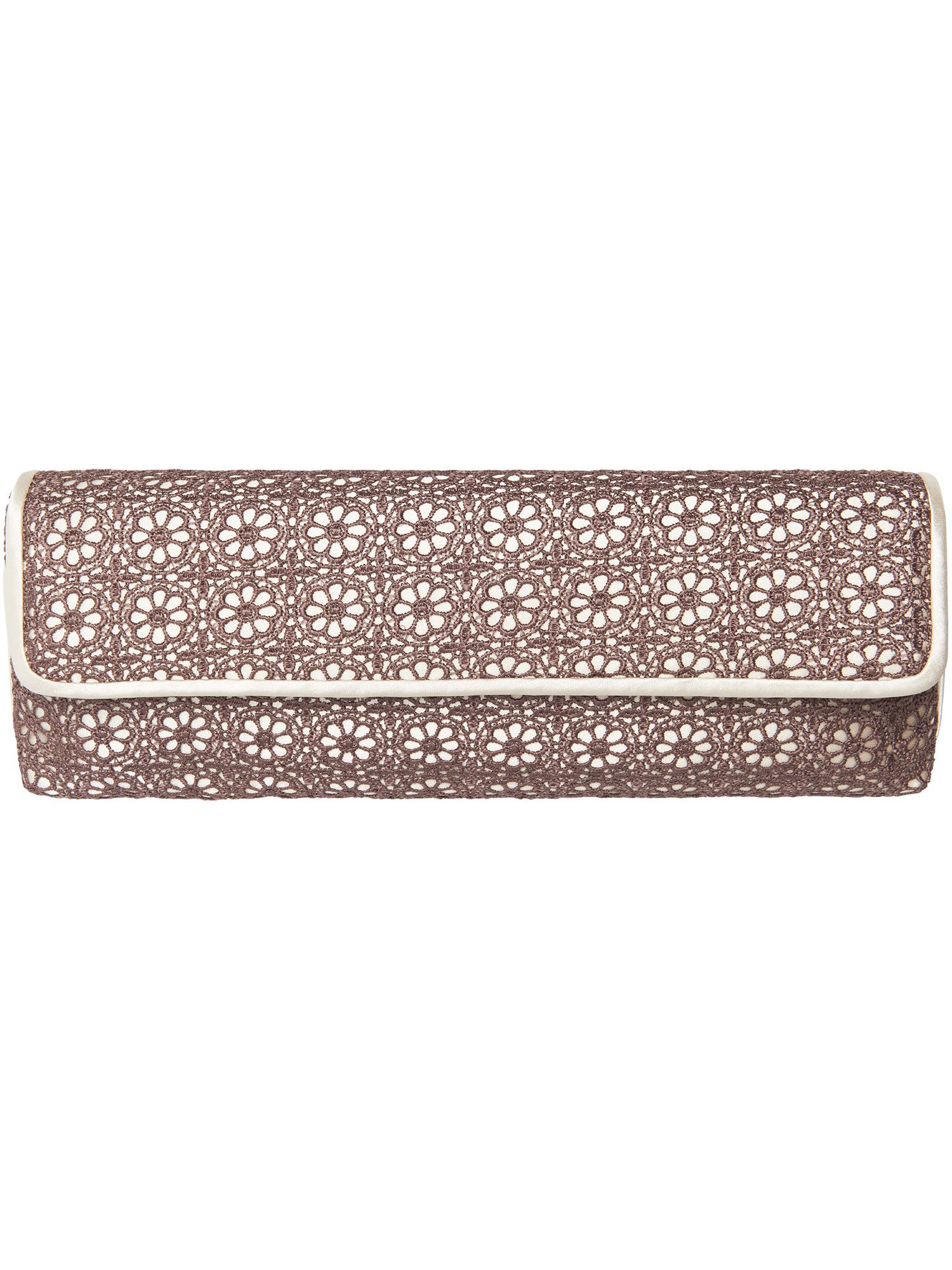 Shiloh lace clutch bag