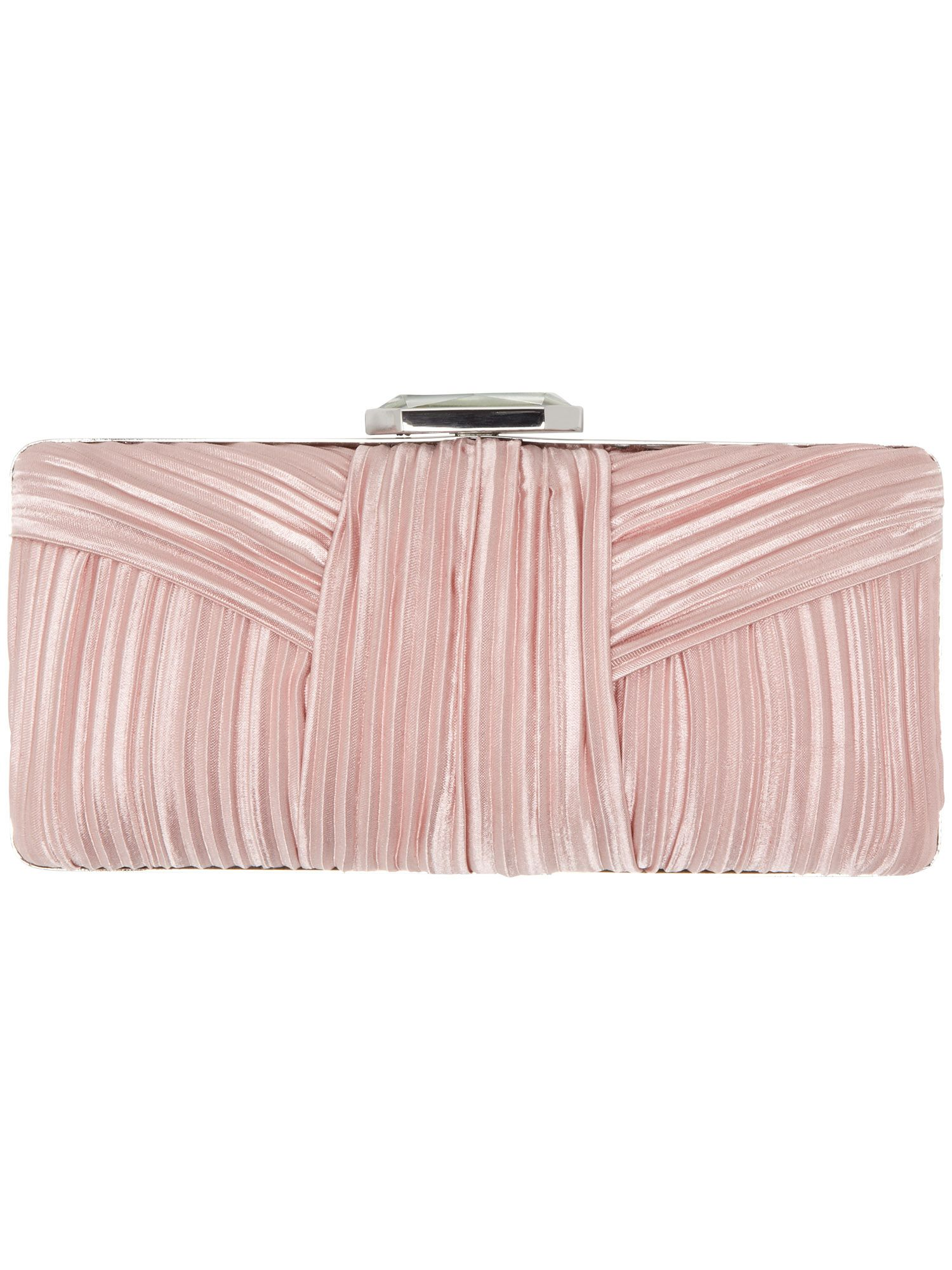 Macy jewel clasp clutch bag