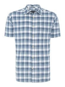 Fairhaven check short sleeve shirt