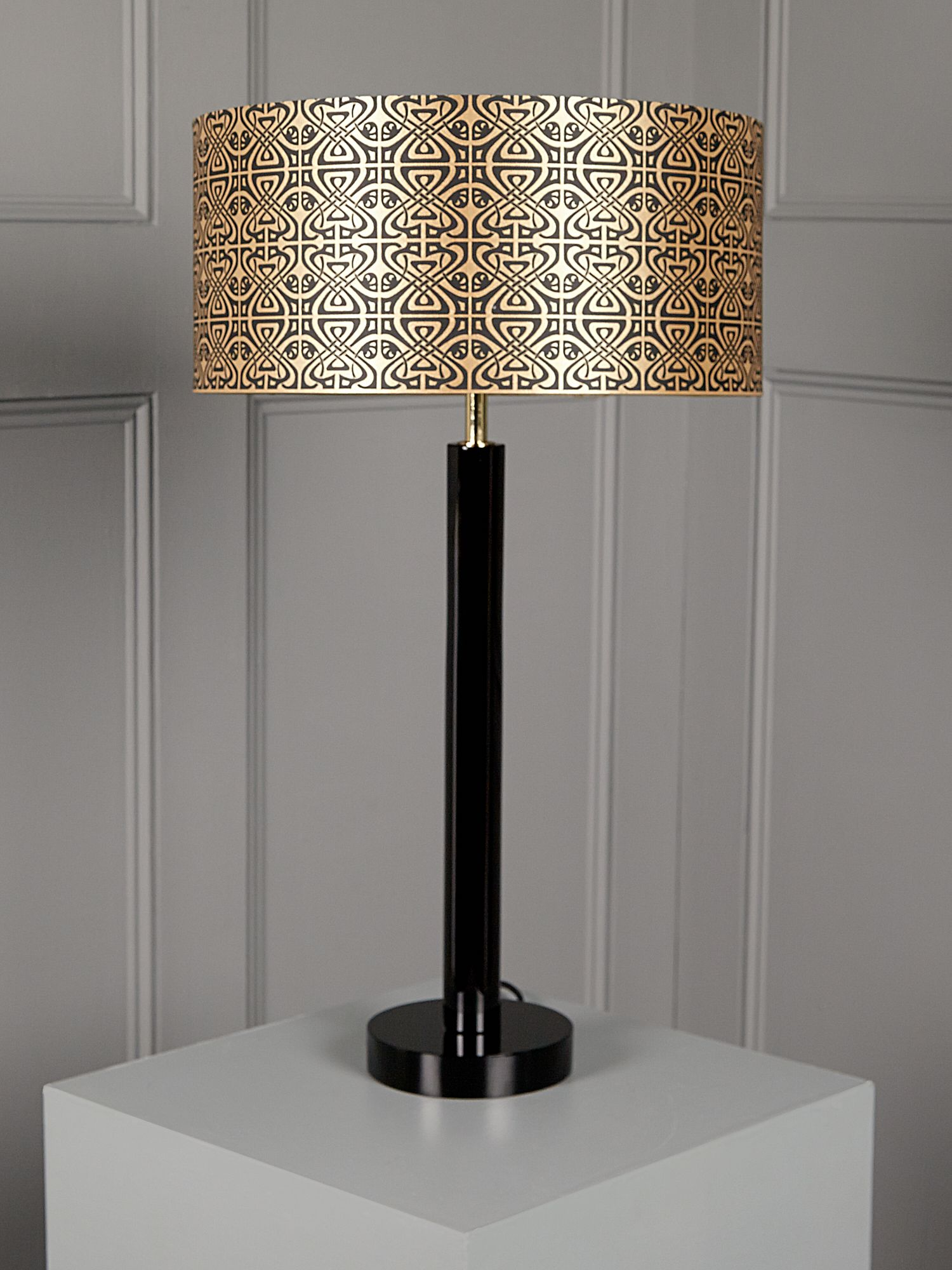 BIBA Logo Shade Table Lamp
