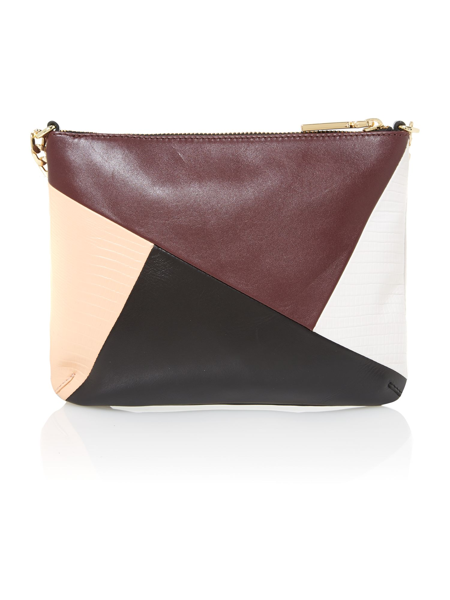 Twiggy multi coloured cross body bag