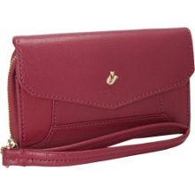 Seymour black cherry wristlet