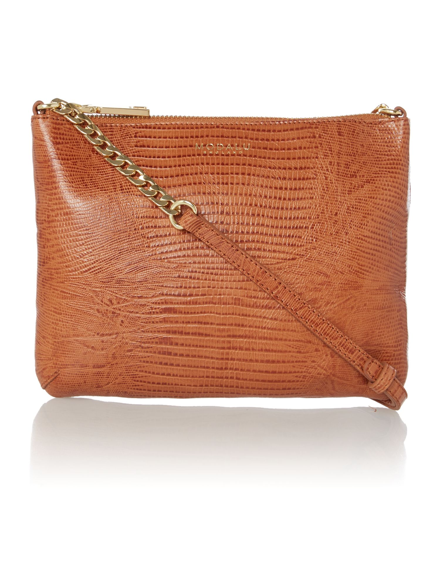 Twiggy tan cross body bag