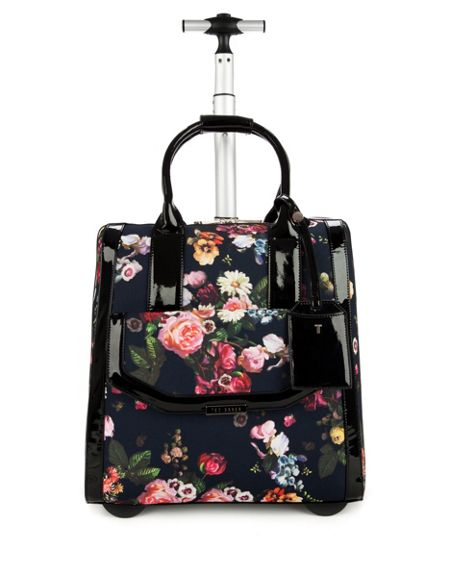 Ted Baker Orela oil painting luggage