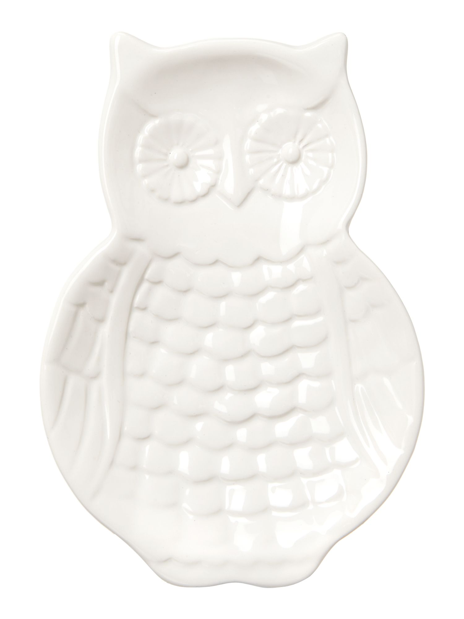 Owl spoon rest