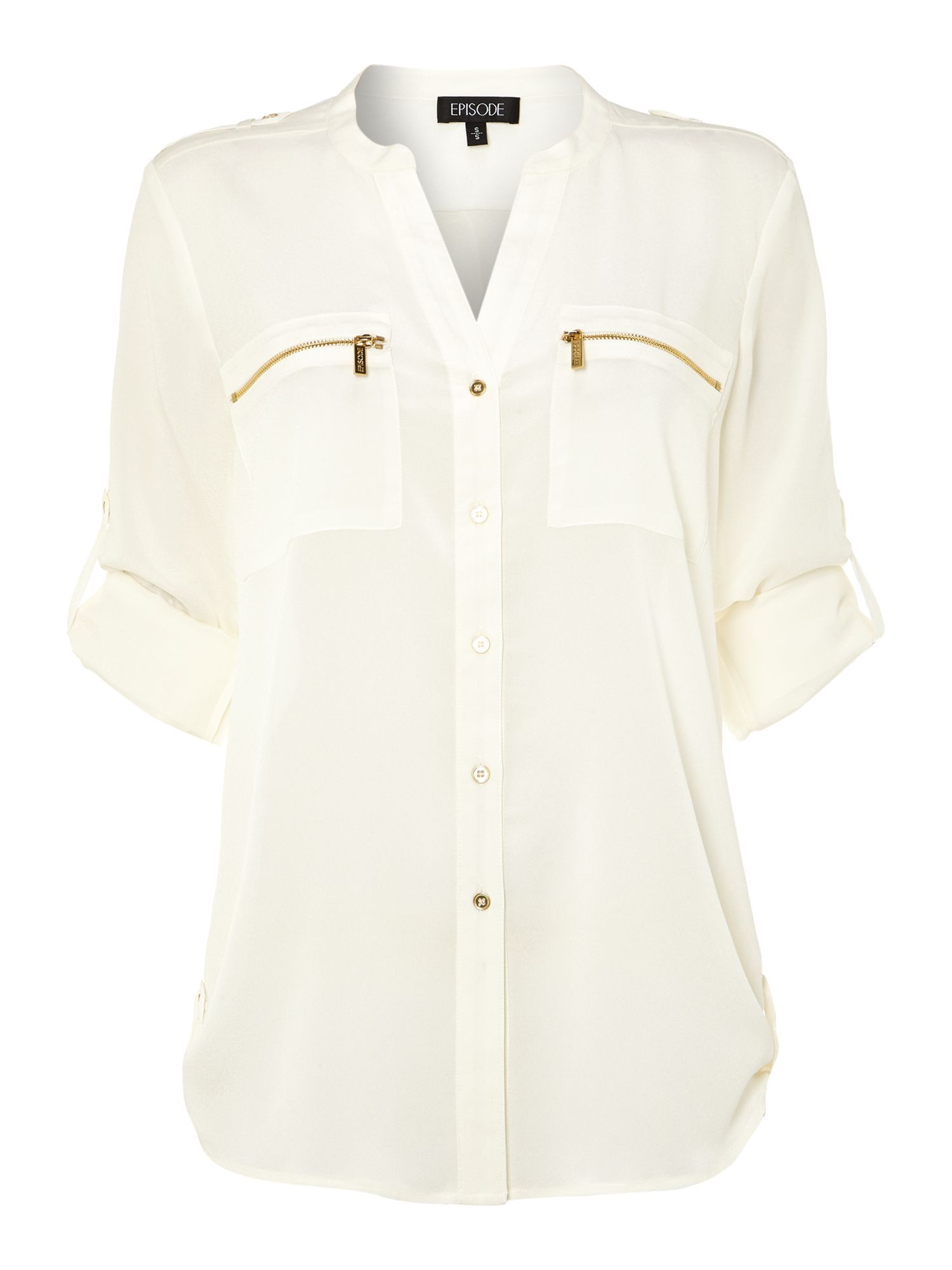 Zip pocket shirt