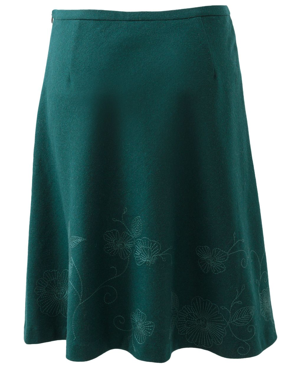 Fior embroidered skirt
