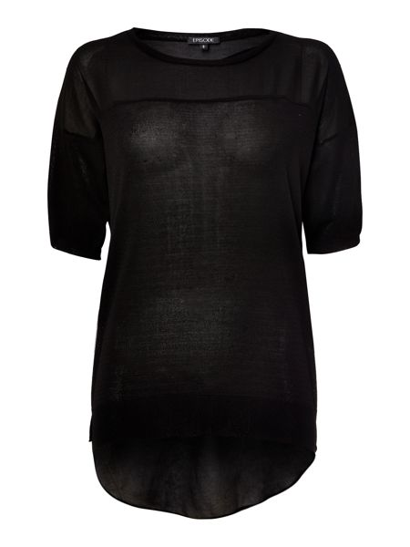 Episode Mixed media pull over top