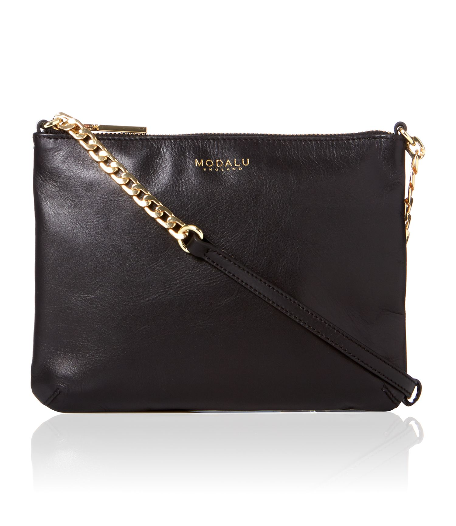 Twiggy small black cross body bag