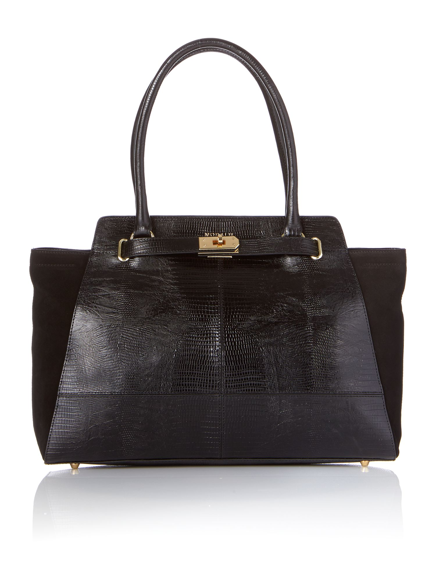 Marlow black tote bag