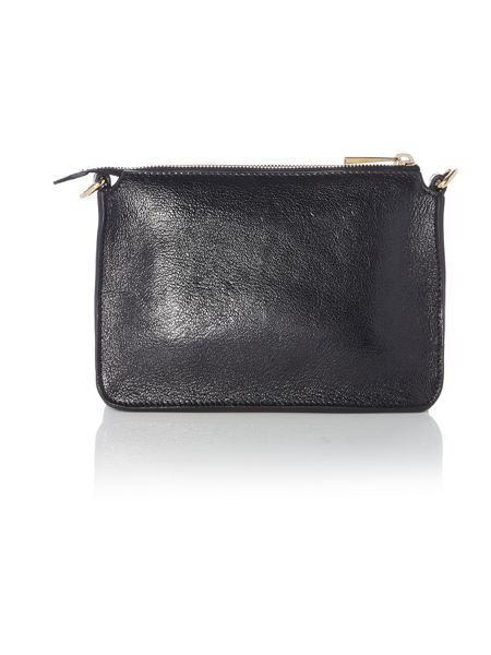 Marc Jacobs Black bow crossbody bag with chain strap