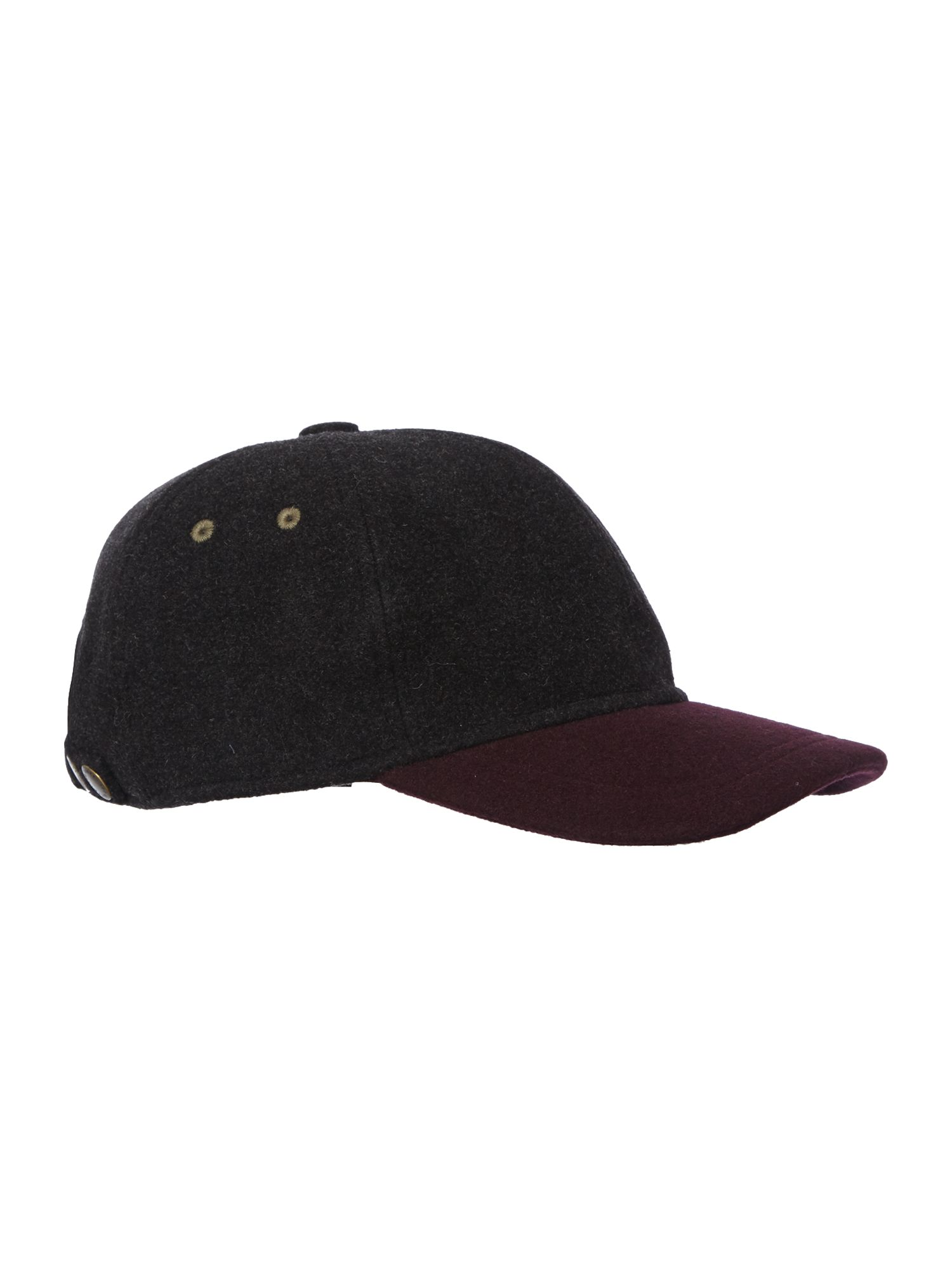 Colour block baseball cap