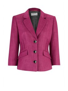 Bordeaux textured jacket