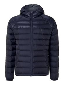 Convey hooded down jacket