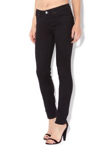Scarlett skinny jeans in Pitch Black