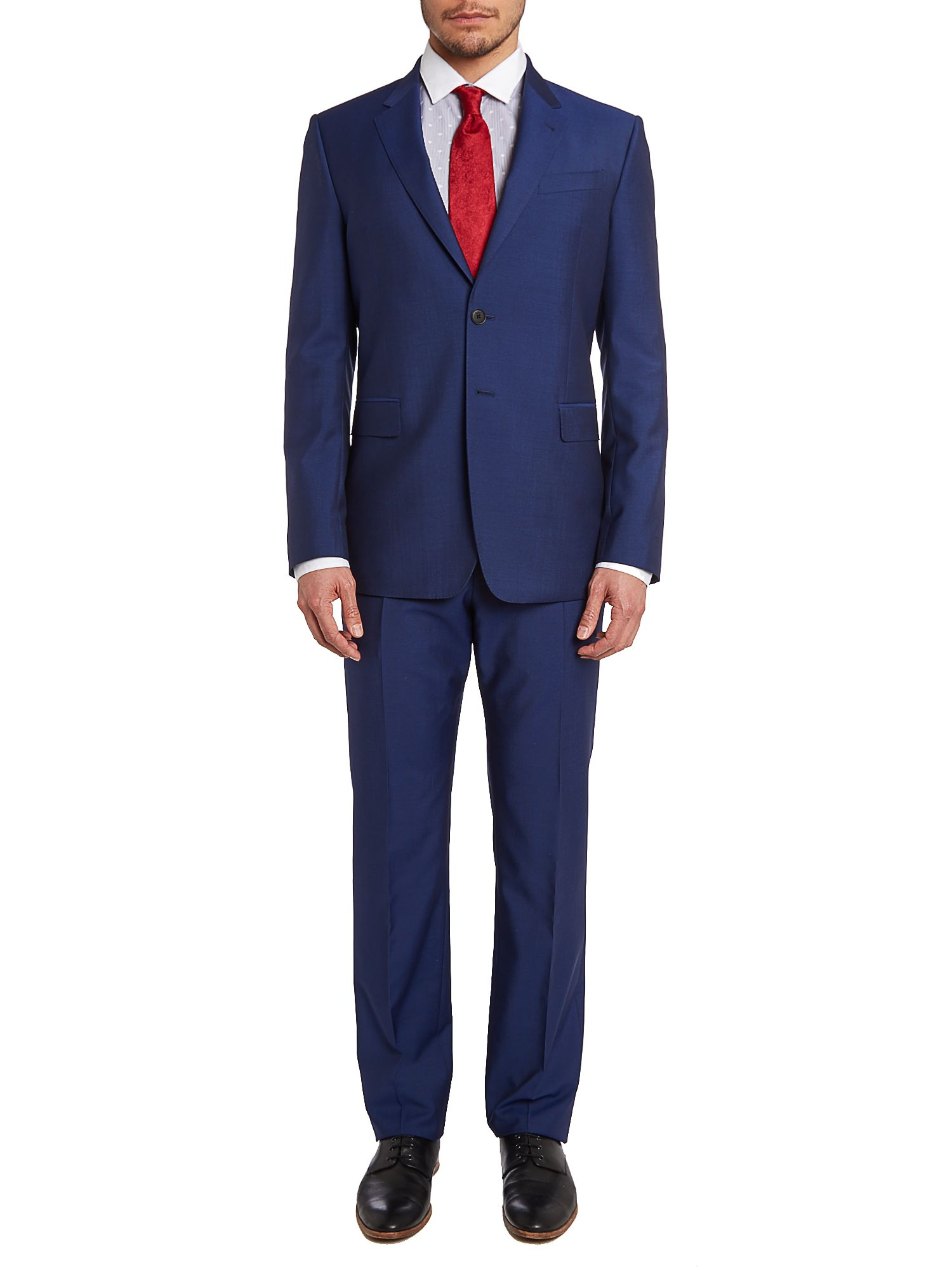 Byard wool mohair slim fit suit