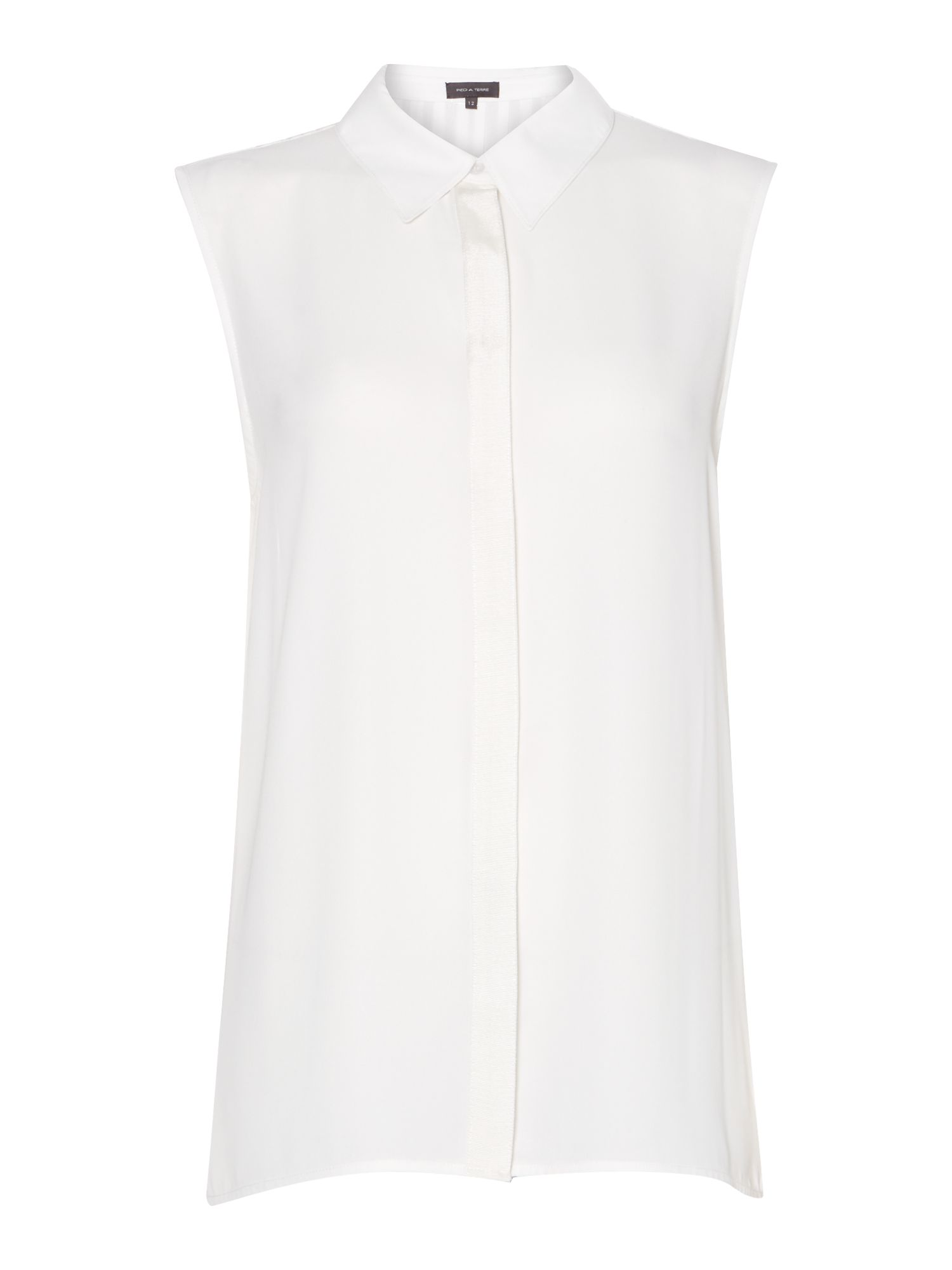Pleat back shirt