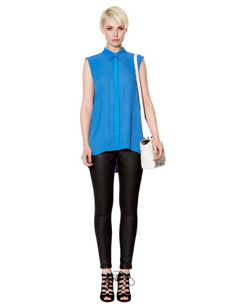Pied a Terre Pleat back shirt