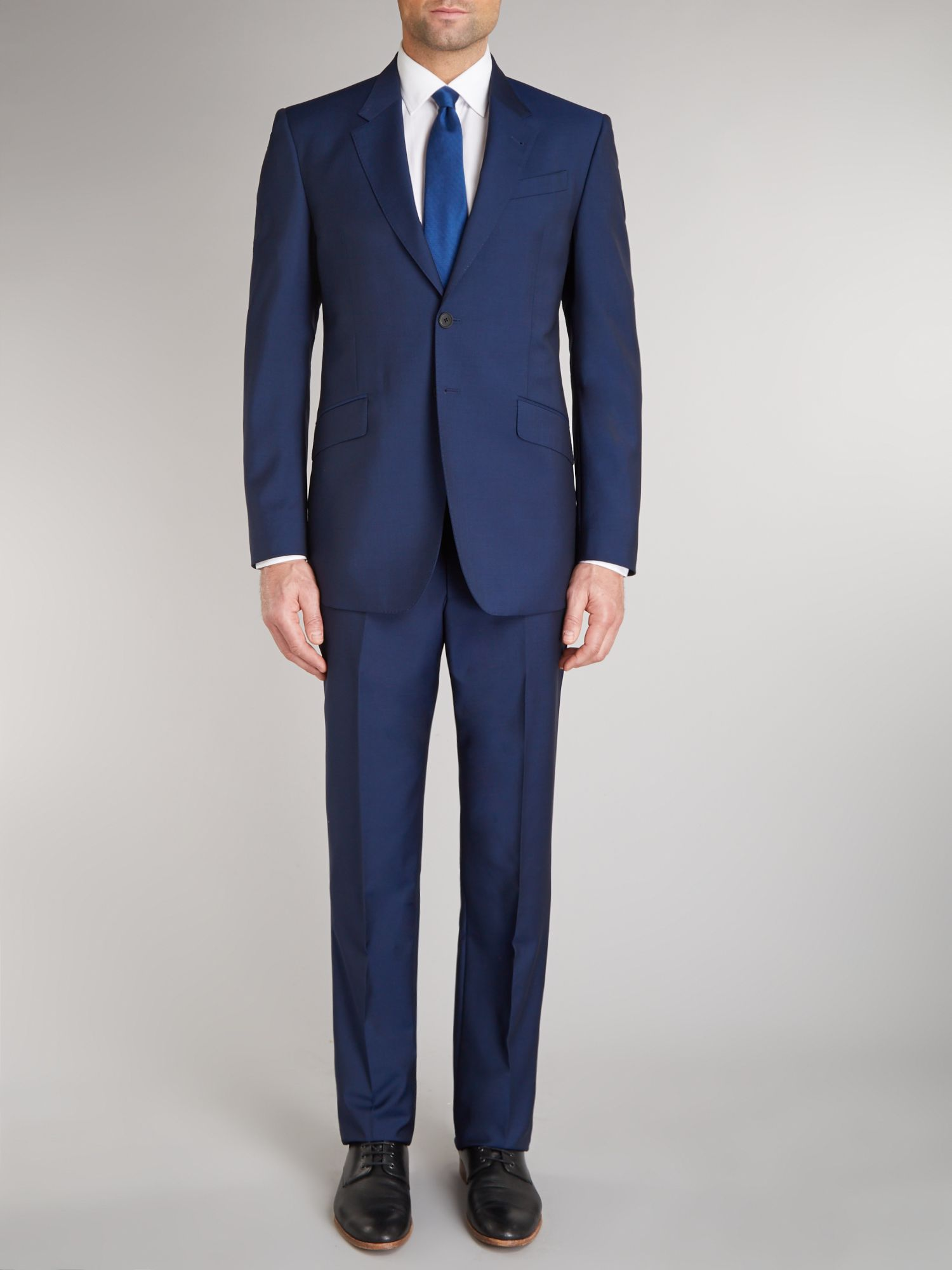 Westbourne wool mohair regular fit suit