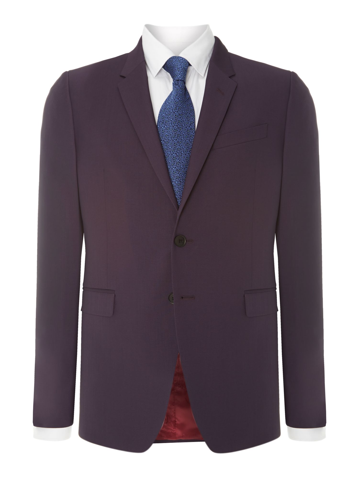 Kensington solid wool mohair extra slim suit