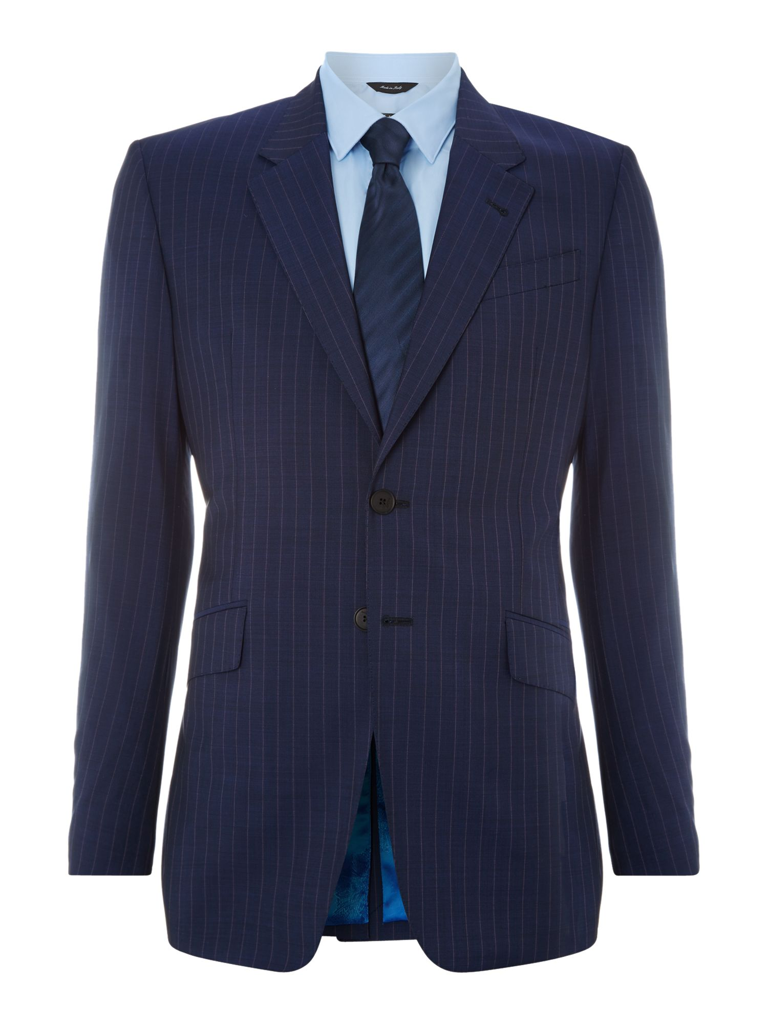 Westbourne pinstripe wool mohair regular fit suit