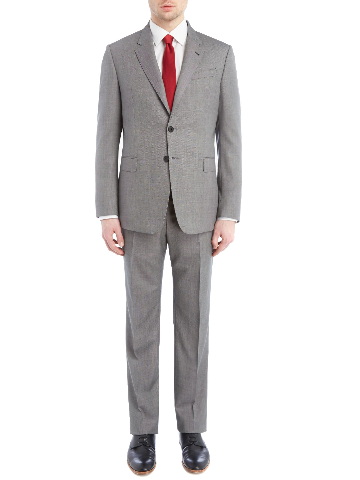 Byard birdseye wool slim fit suit