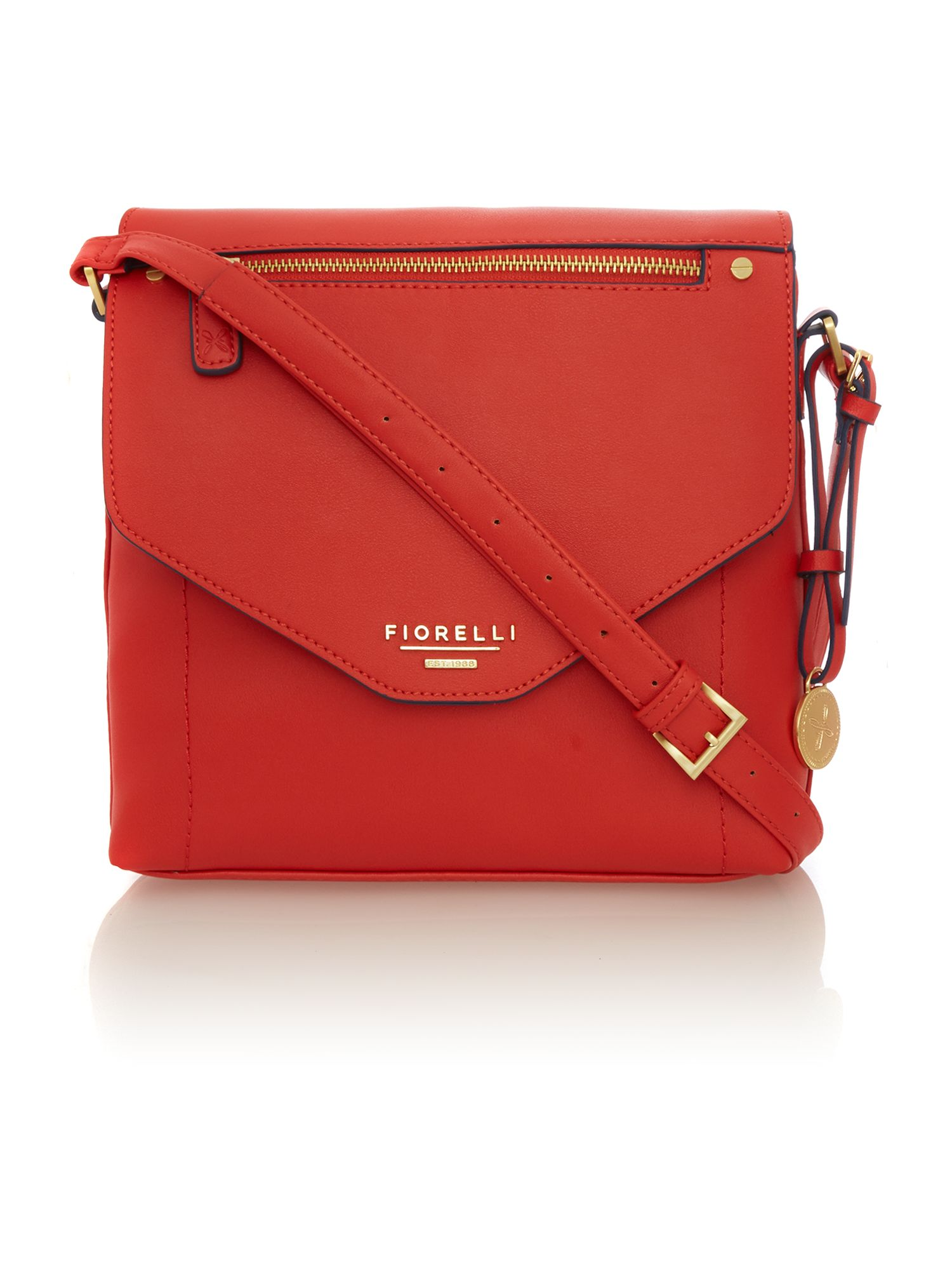 Chloe red crossbody bag