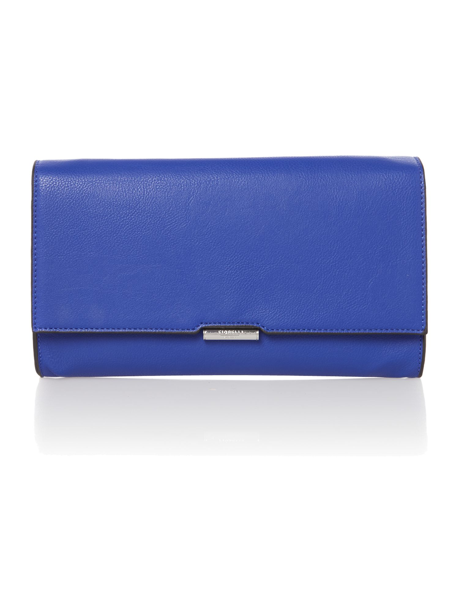 Dixie blue clutch bag