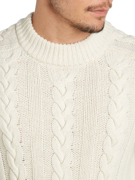 Acne Front pattern knit