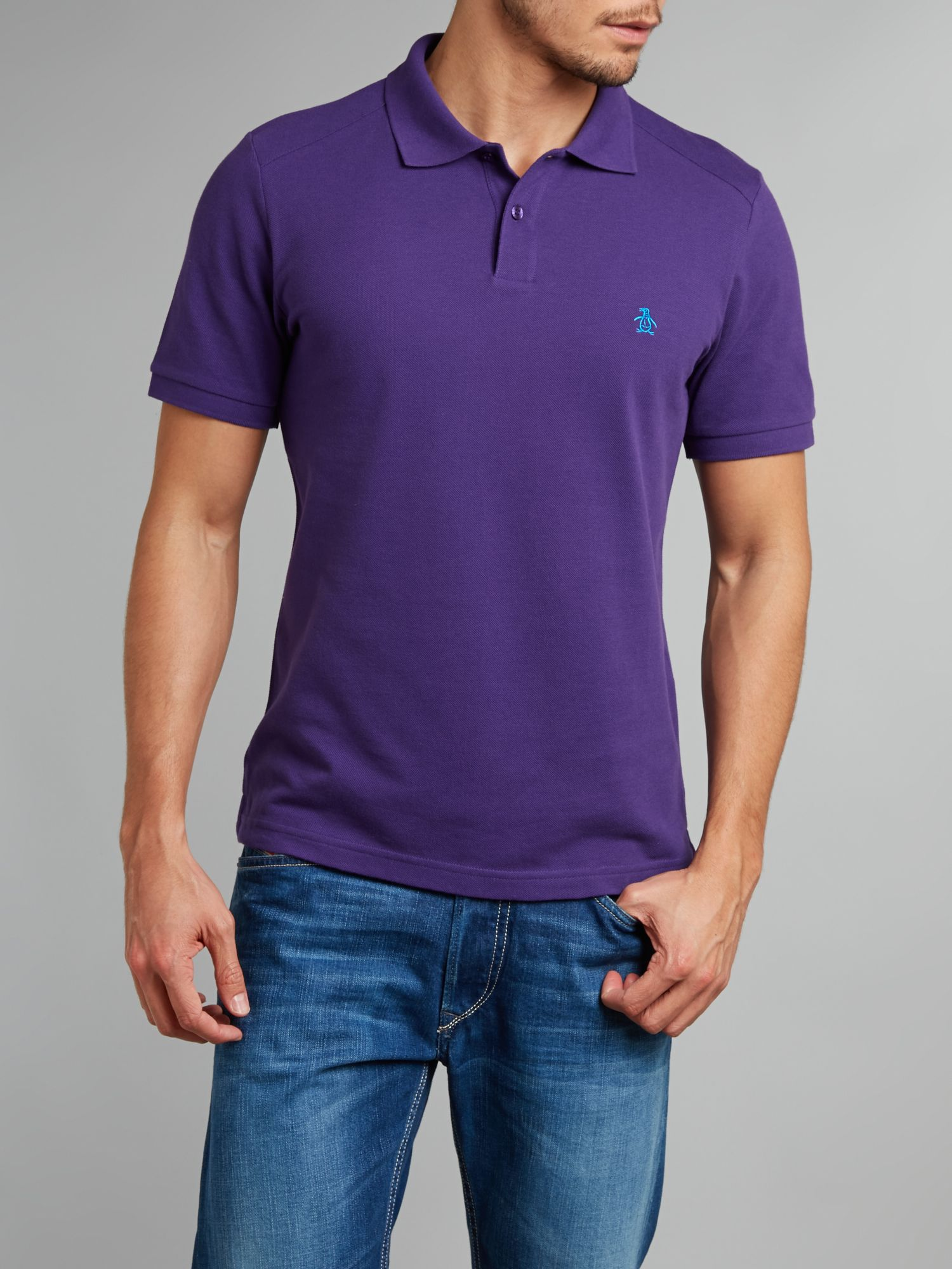 The daddy oxford polo shirt