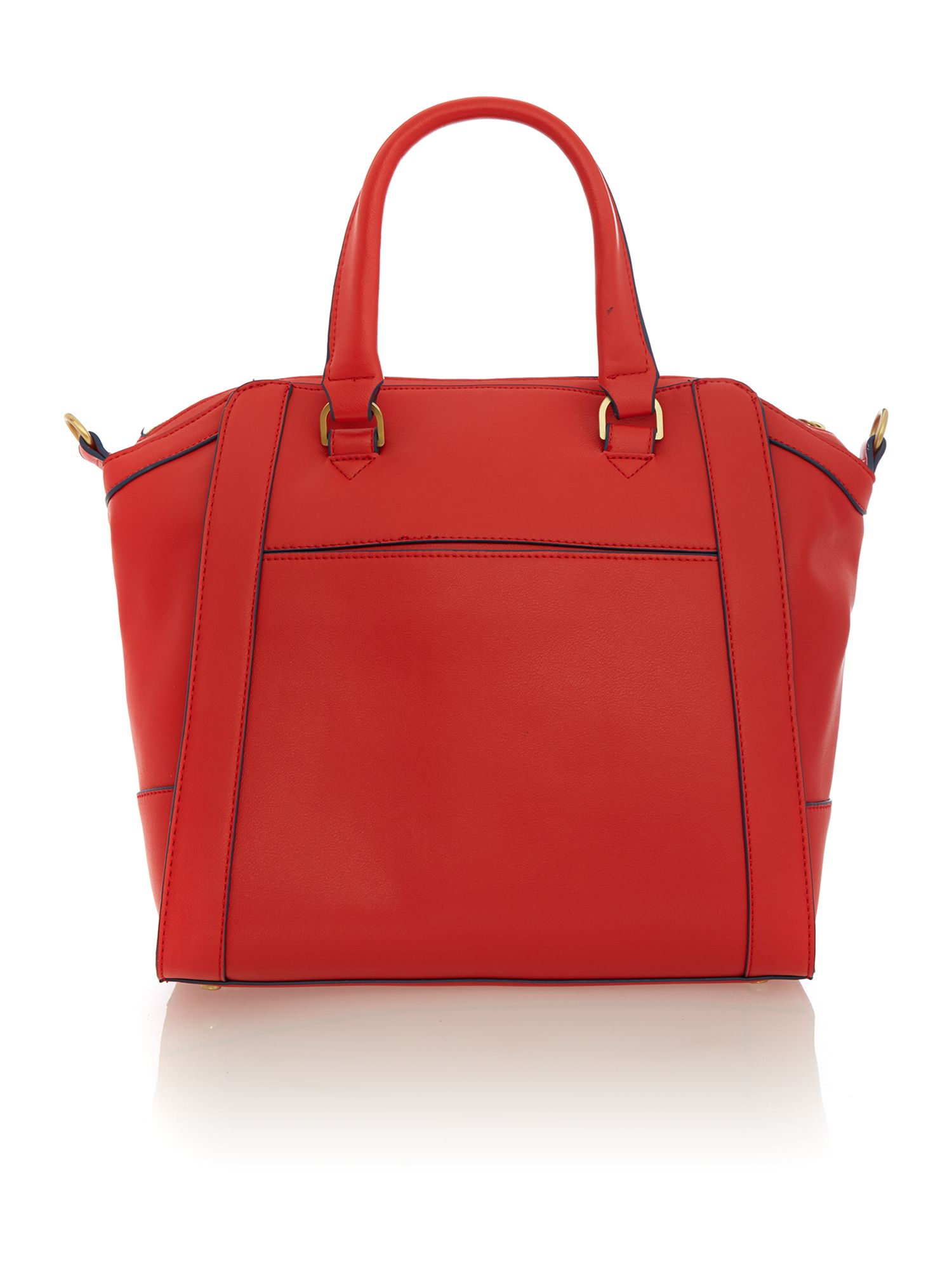 Kenzie red tote bag