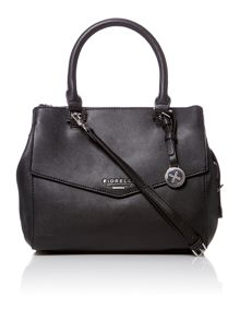 Mia black cross body bag