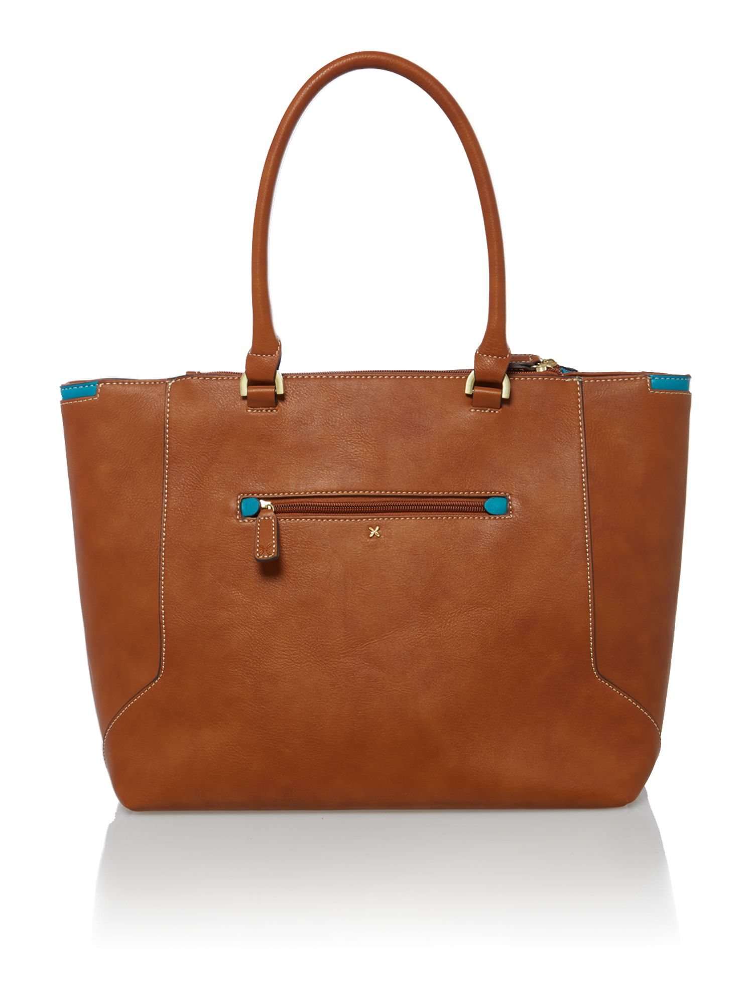 Paris tan tote bag