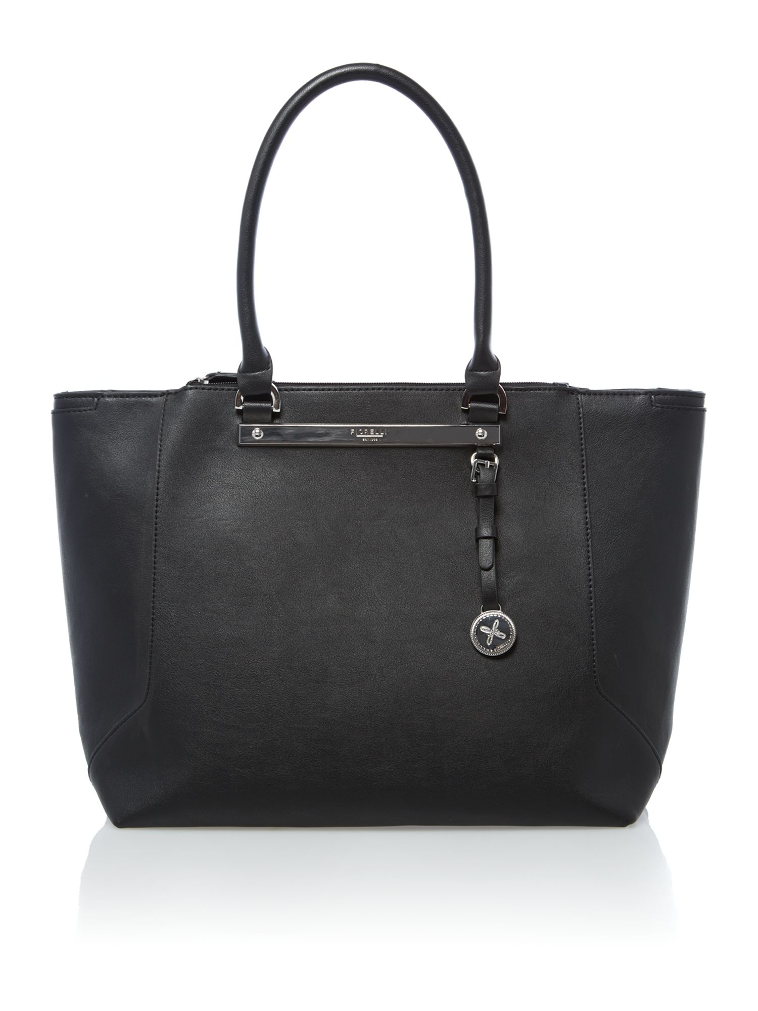 Paris black tote bag