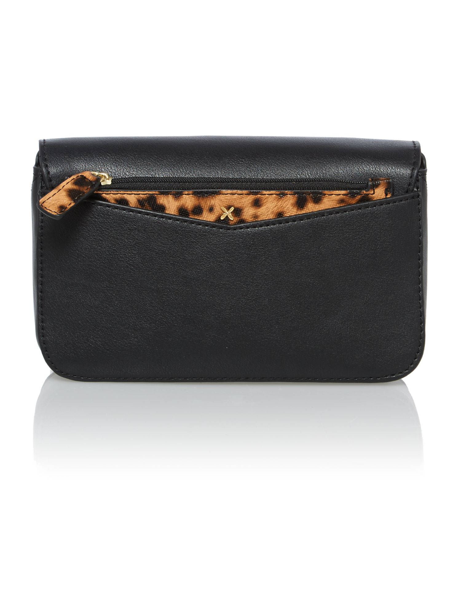 Perry black crossbody bag