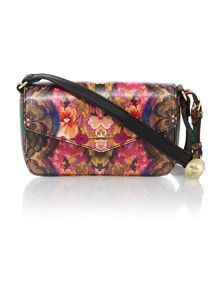 Perry multi coloured crossbody bag