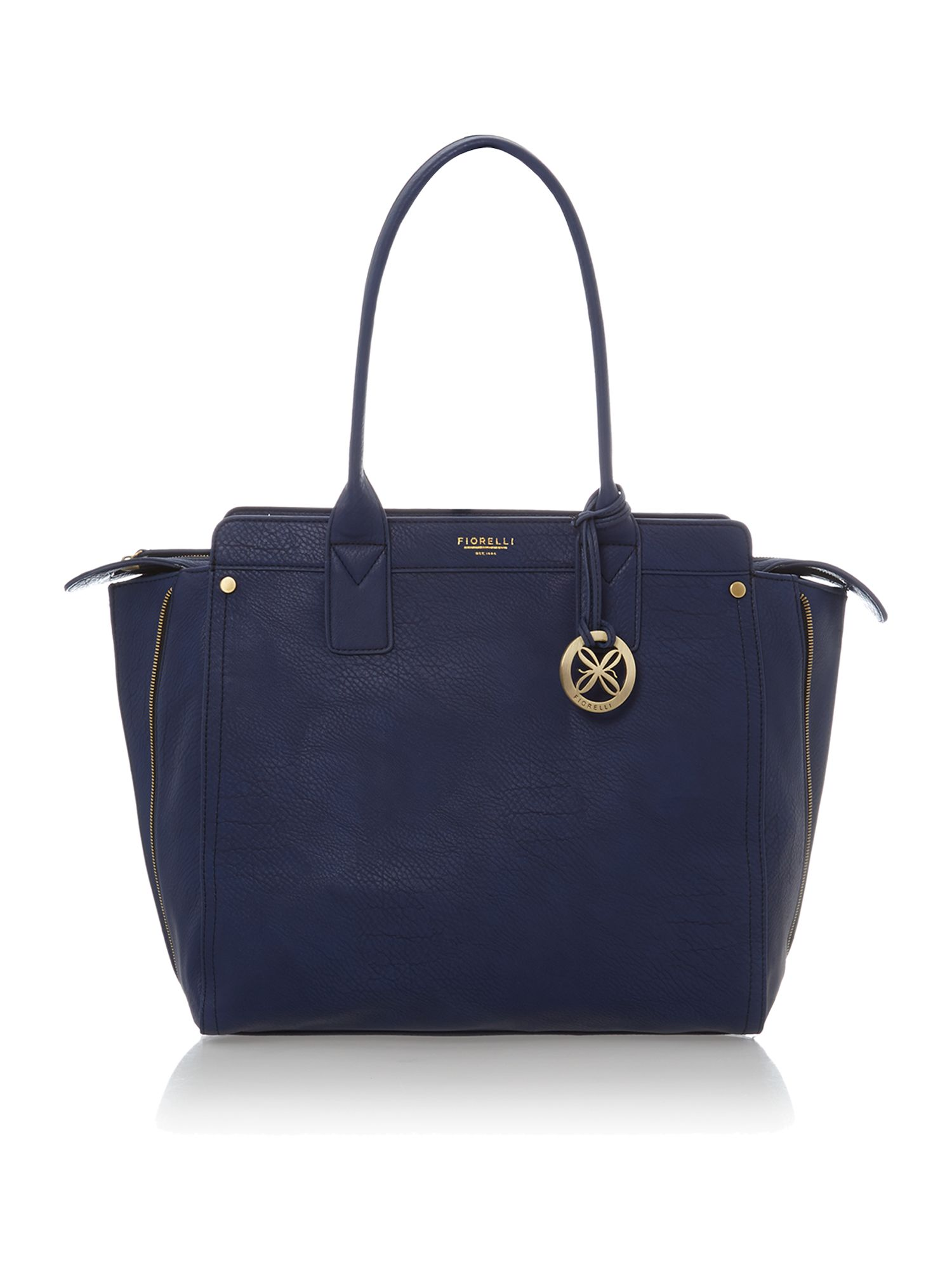 Agyness navy tote bag