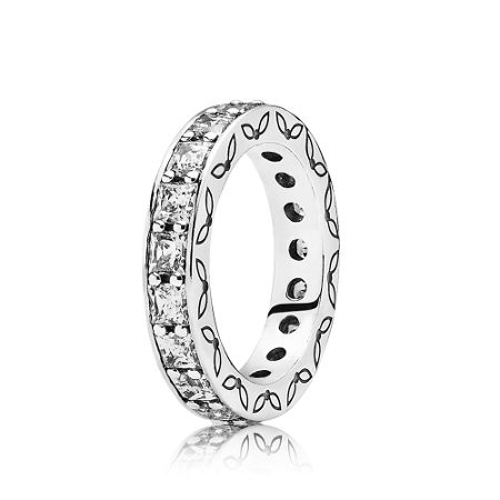 Pandora Clear eternity ring