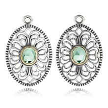 Precious heritage lace earring pendants
