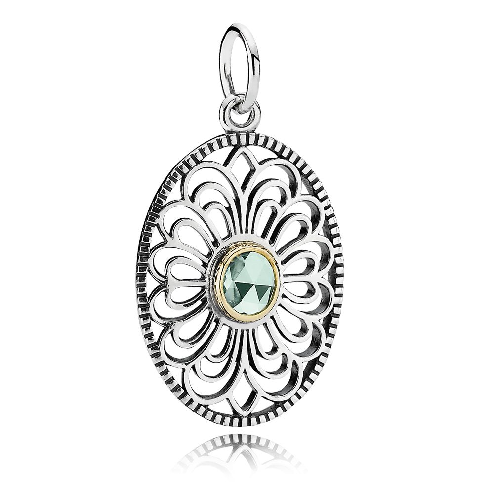Precious heritage lace necklace pendant