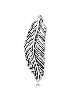 Feather necklace pendant