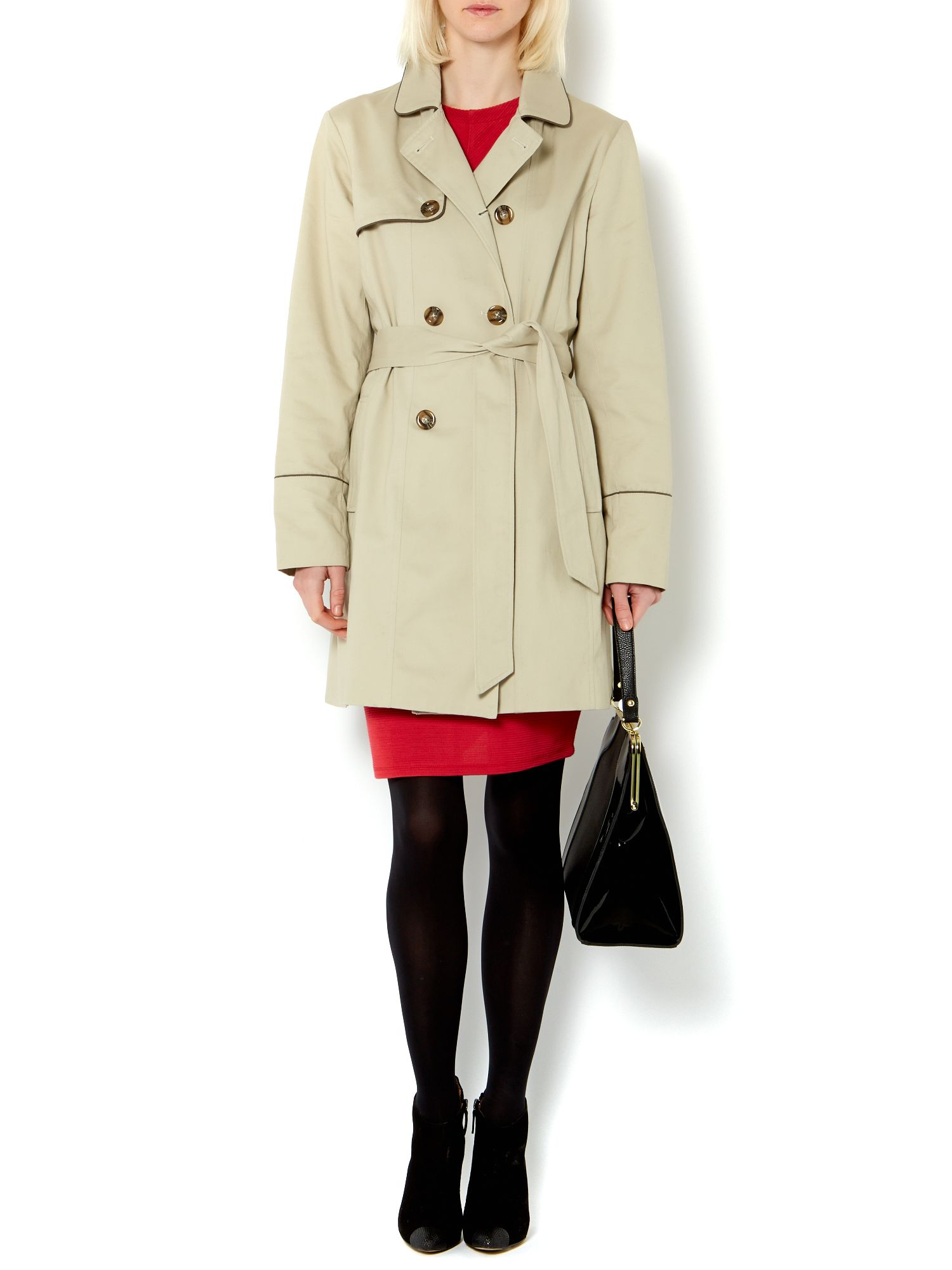 Fit and flare mac coat