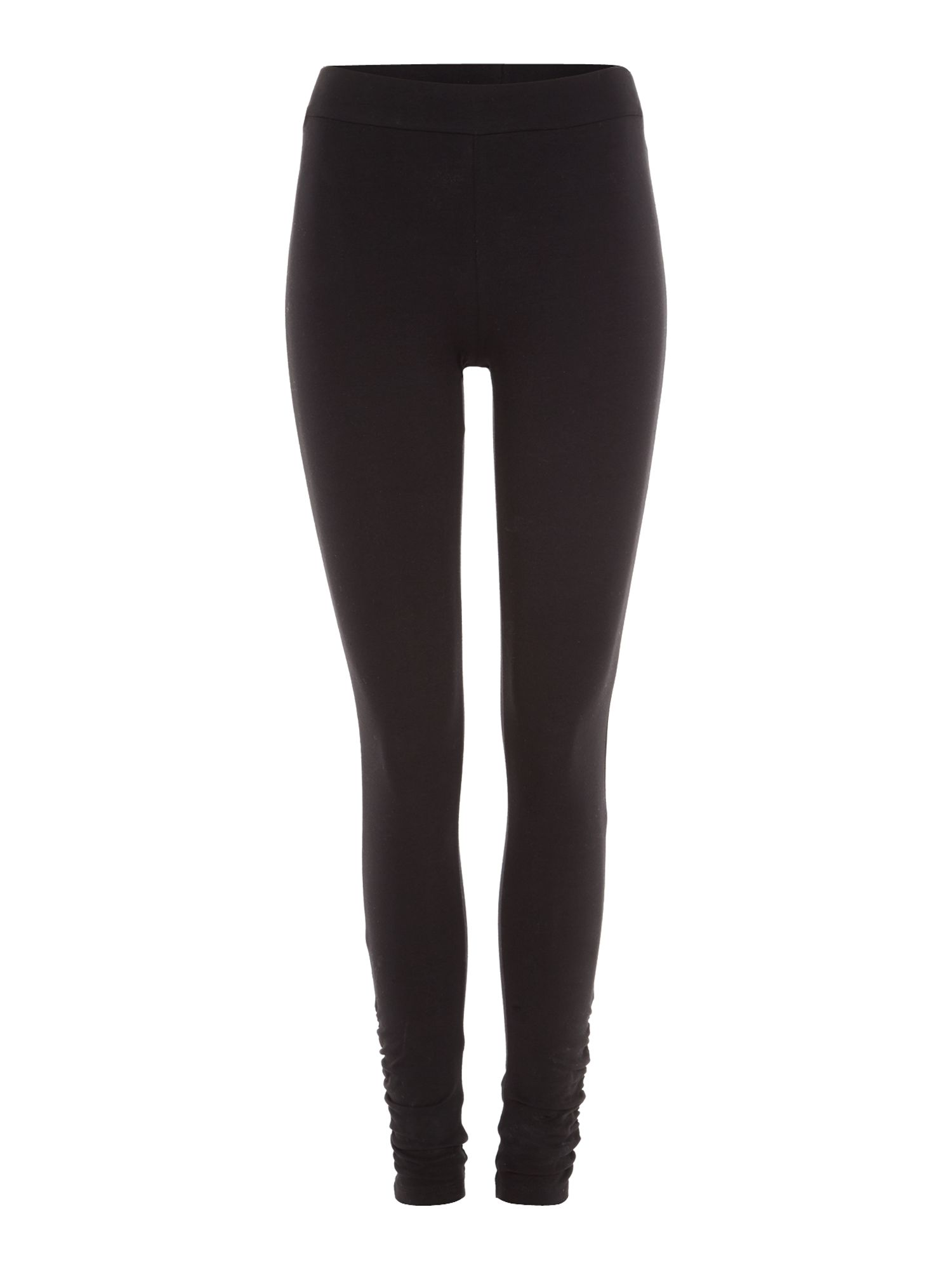 Ruched hem leggings