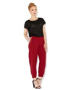 Stud detail slouch trouser